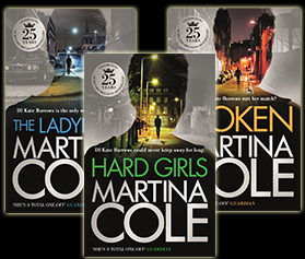 Martina Cole talks about Kate Burrows - Martina Cole